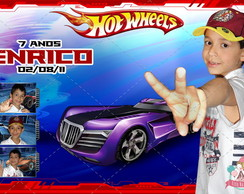 Ímã Com Foto - Hot Wheels