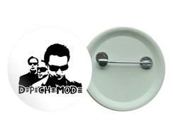 Botton 3,5 - Depeche Mode New Wave