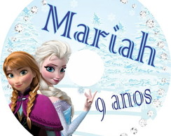CD/DVD personalizado Frozen
