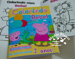Revista colorir Peppa Pig & George