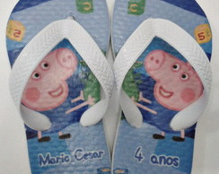 Chinelo personalizado George 01