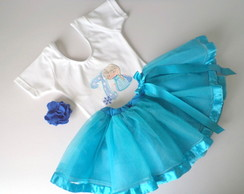 Conjunto Princesa do Gelo - 7 Anos