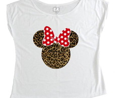 T-shirt Minnie Onça