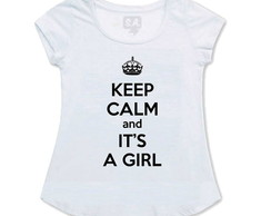 Bata Gestante Keep Calm It's A Girl