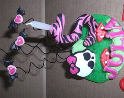 Topo de bolo Monster High