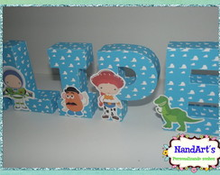 Letras decorativas 3D- Toy Story
