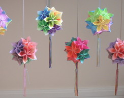 Kusudama Morning Dew (estampado)