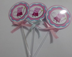 Toppers Personalizados Peppa Pig