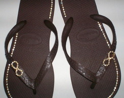 Havaiana TOP - Piercing/strass