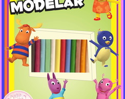 Massa de Modelar - Backyardigans