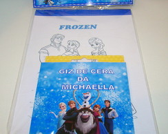 "Kit Colorir "" Frozen"""