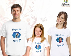 Kit 3 camisetas- Frozen 01