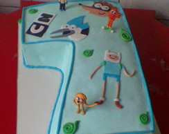 Bolo Decorado Cartoon Network