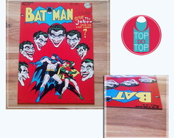 Placa vintage Batman
