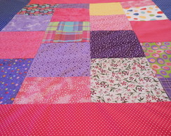 Tapete Infantil Patchwork Colorido