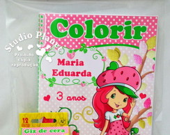 Kit Colorir Moranguinho Teen