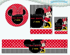 Kit Festa Infantil Minnie II (arte)