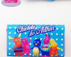 Rótulo chiclete tema Backyardigans