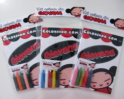 Kit colorir Pucca