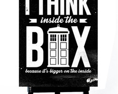 * MINI POSTER PLUS - DOCTOR WHO-TARDIS