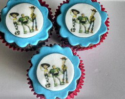 Cupcakes decorados Toy Story