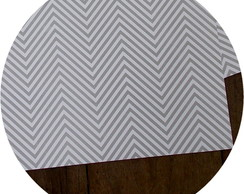 Papel Scrapbook Chevron [cinza]