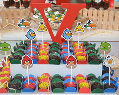 Topper de Doces Angry Birds