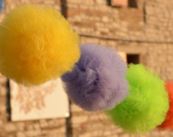 Small Kit Pompom Tule Pequeno 3