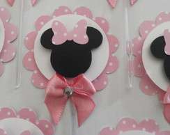 Toppers / Tags p/Doces/Cupcake MINNIE