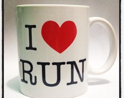 Caneca I Love Run