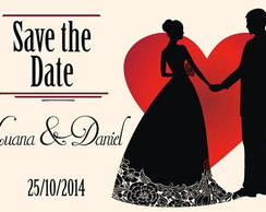 Arte Digital: Save the Date - Heart
