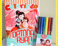 Kit Colorir Detona Ralph