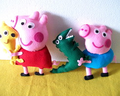 Peppa e George Pig Kit festa