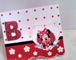 Convite pop up Minnie