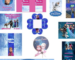 KIT FESTA IMPRESSA FROZEN