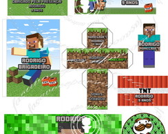 Kit festa digital Minecraft