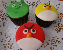 Cupcakes personalizados Angry Birds