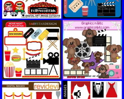 kit Scrapbook Digital Cinema
