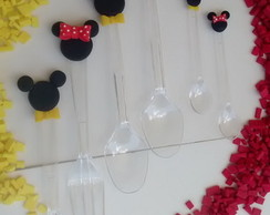 MINI COLHER - MICKEY E MINNIE