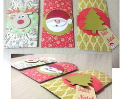 Envelope Bag scrapbook para Natal