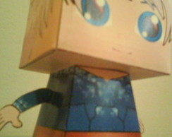 Paper Toy 3D Jack Frost - Guardiões