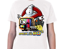 Camiseta infantil Back to the 80's