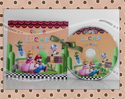 DVD ou CD personalizado Super Mario