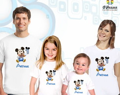 Kit 4 camisetas- Mickey Baby 02
