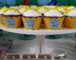 Wrappers (saia para cupcake) Toy Story