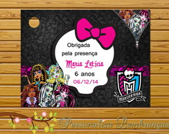 TAGS DE AGRADECIMENTO - Monster High