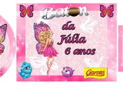 Kit Personalizado Barbie Butterfly