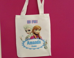 Eco bag personalizada frozen