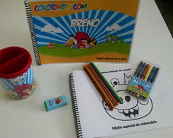 10 KIT PERSONALIZADO DE COLORIR