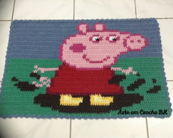 Tapete Croche Peppa Pig
